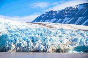 glacier in hindi