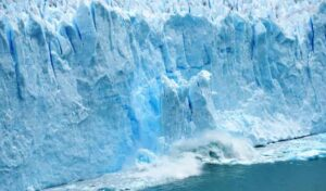 glacier meaning in hindi
